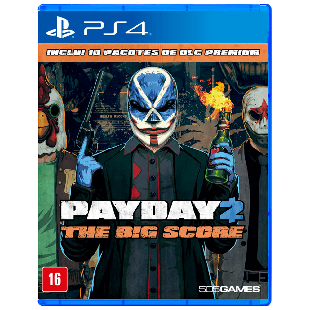 Jogo Payday 2 - The Big Score PS4