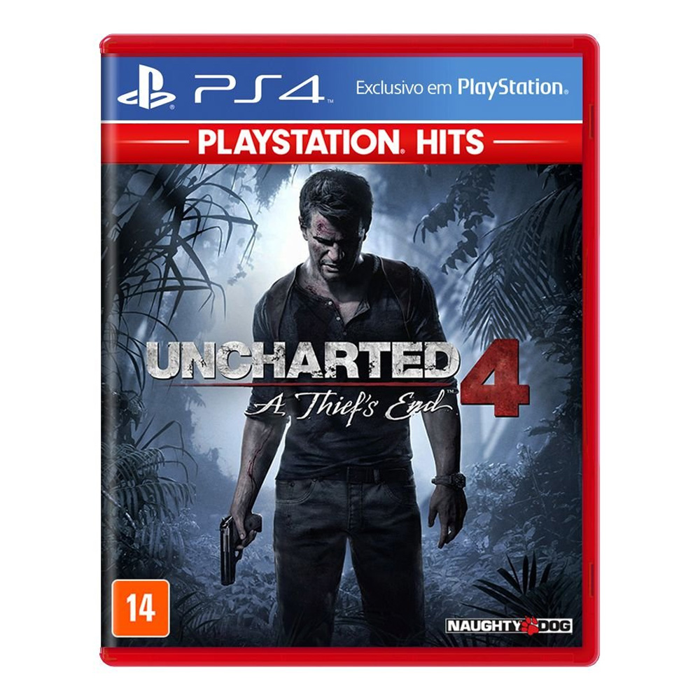 Jogo Uncharted 4: A Thief's End - PS4 Hits