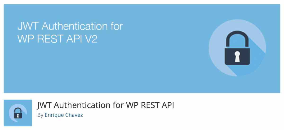 WordPress JWT Auth plugin Rest API