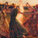 Leyenda Colombiana de las Brujas de Burgama