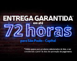 Entrega em até 72hs na seleção para São Paulo Capital