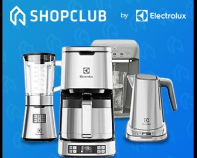Até 40% OFF no ShopClub Electrolux com Banco PAN