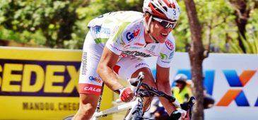 O ciclista paulista Breno Sidoti (Funvic/Marcondes César/ Pinda) venceu neste domingo (9/1) a Copa América de Ciclismo