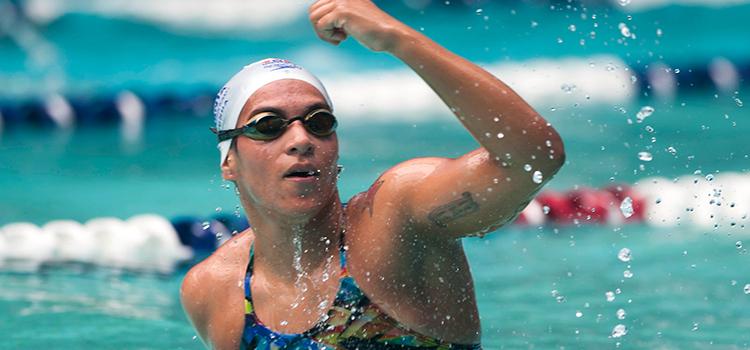 Nadadores brasileiros treinam no Crystal Palace em Londres