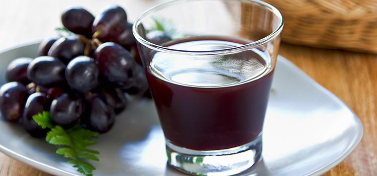 Suco de uva traz benefício para todo o organismo