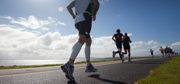 Correr em ladeira dá força e resistência