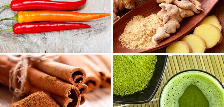 Termogênicos naturais para derreter gordura