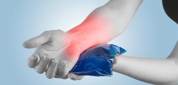 Gelo para a dor: saiba a maneira certa de usar