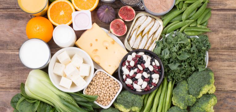 Alimentos ricos em cálcio além do leite