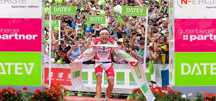Frodeno bate recorde mundial no Ironman