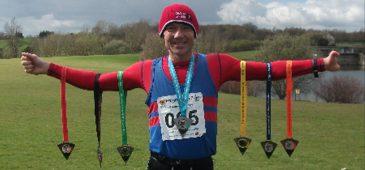 Britânico busca recorde de 1000 maratonas