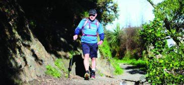 Atleta com paralisia encara a Coast to Coast