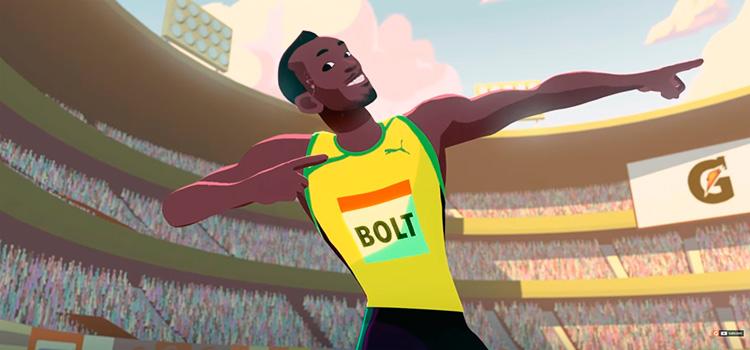 Bolt: estrela dentro e fora das pistas