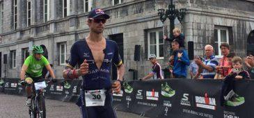 o triatleta Igor Amorelli garantiu nesse domingo o título do Ironman Holanda, realizado em Maastrich, capital da província de Limburg, com 8h28min17seg