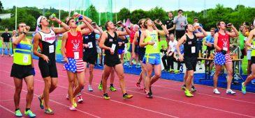 Corredor quebra recorde mundial na Beer Mile