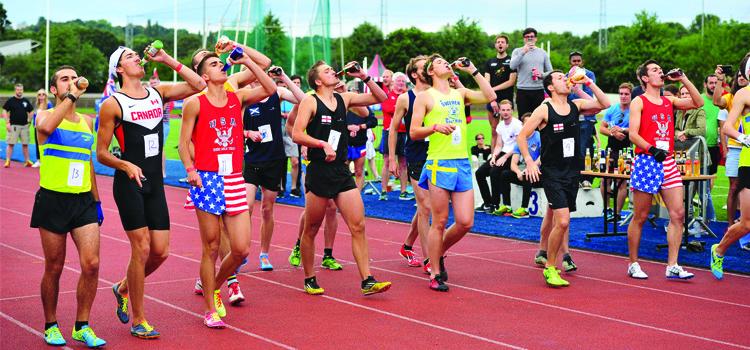 Corrida com cerveja tem novo recorde