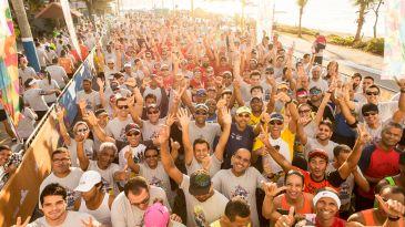 Dia de sol e cheio de energia boa com os mais de 3 mil corredores que invadiram o Circuito Paratodos neste fim de semana