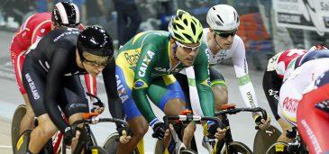 O ciclista cearense criado em Sergipe vai enfim encerrar um jejum de participações nacionais em provas olímpicas de velódromo