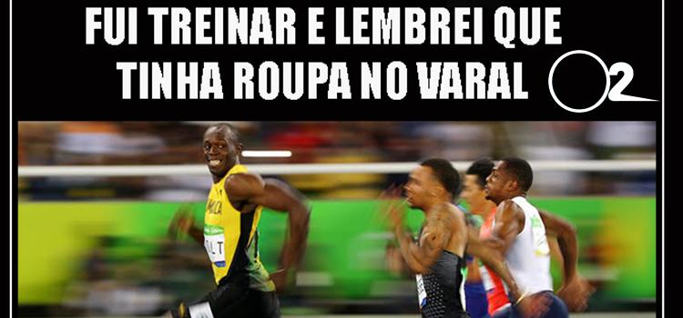 Usain Bolt vira meme no Brasil