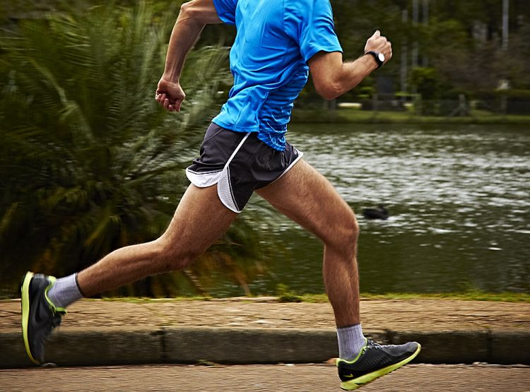 Postura correta para correr em ritmo moderado