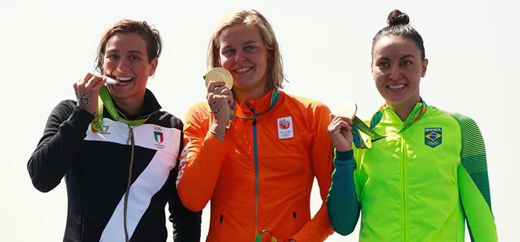 Poliana Okimoto, a maratonista das águas