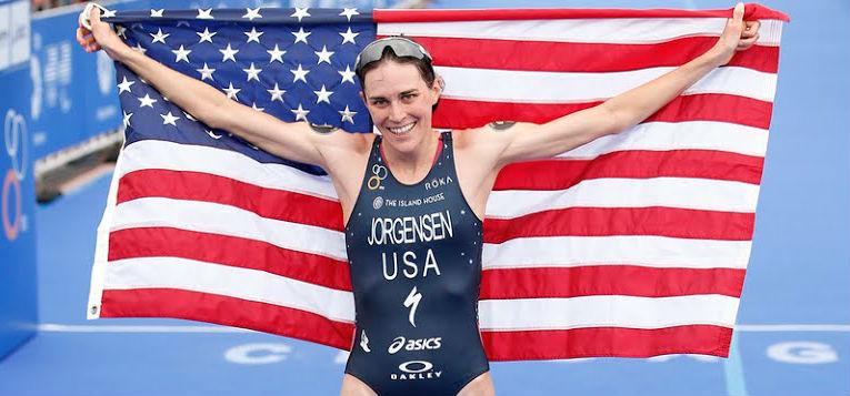 Jorgensen leva o ouro no triathlon do Rio 2016