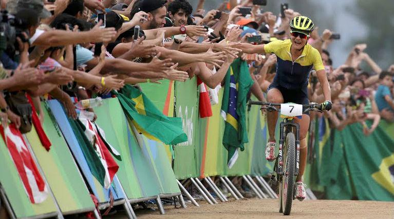 Sueca vence o MTB do Rio 2016