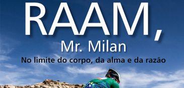 """Mr. Milan vai realizar um bate-papo na Livraria Fnac, Av. Paulista, 901, às 16h00, para contar suas histórias e mais sobre o livro que """"Raam, Mr. Mil – No limite do corpo, da alma e da razão"""""""