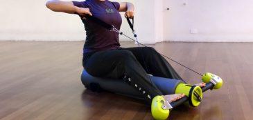 Novo aparelho possibilita trabalhar todo o corpo