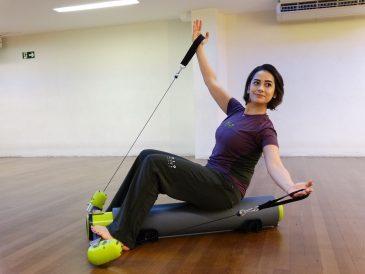 MOTR: aparelho possibilita trabalhar todo o corpo