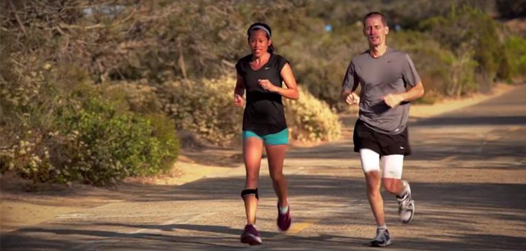 Mulher com esclerose encara 7 maratonas
