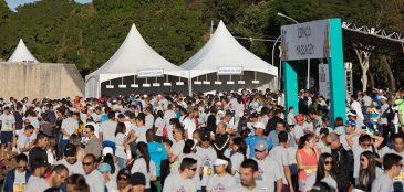 Neste domingo, 18, aconteceu o Circuito ParaTodos em Brasília, no Eixo Sul. A prova reuniu milhares de pessoas na caminhada de 3km e na corrida de 5km