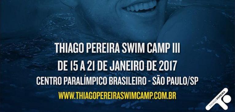 Thiago Pereira promove Swim Camp