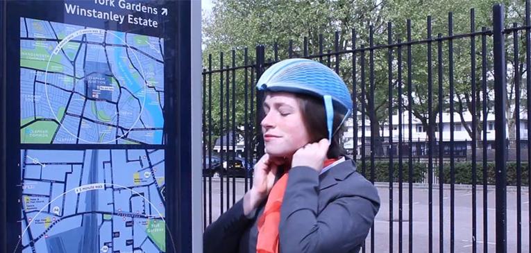 EcoHelmet: o capacete de papel