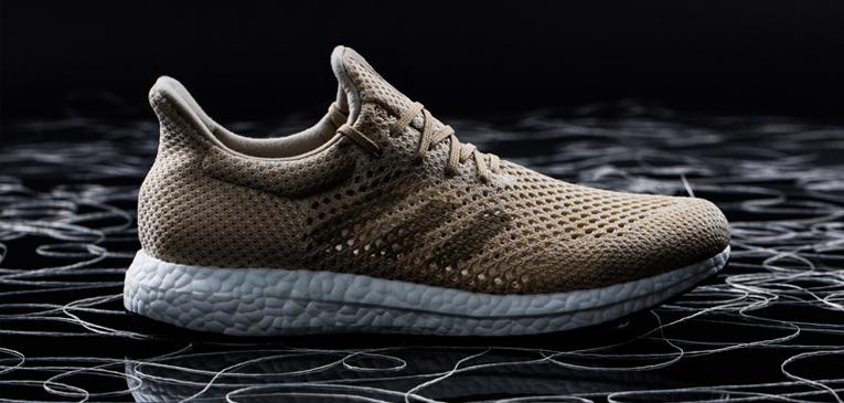 Adidas lança tênis de fibra biodegradável
