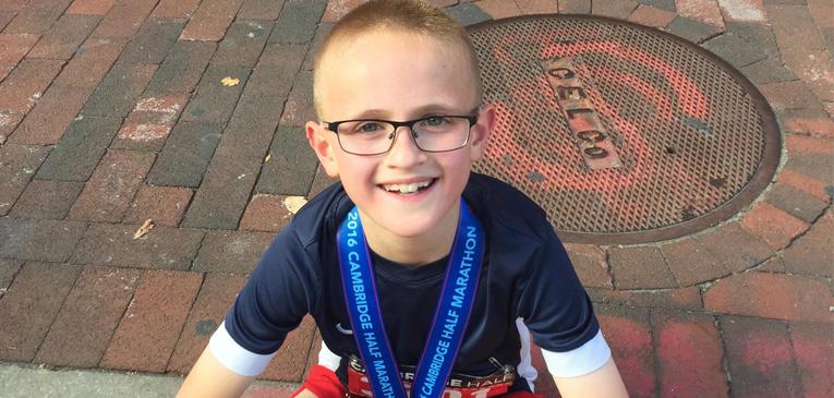 Aos 9 anos, recorde mundial nos 21 km