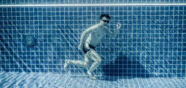 treinar embaixo d'água