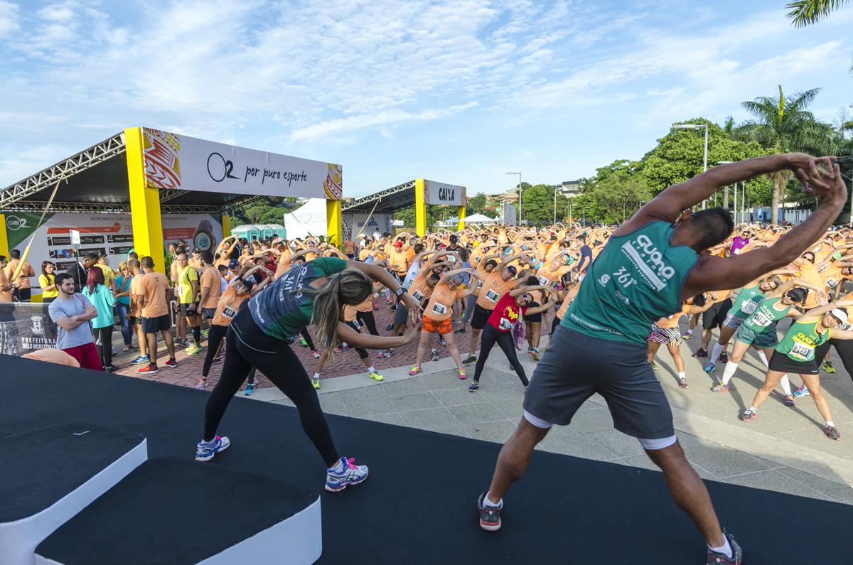 Estações em BH reúne 5.500 atletas