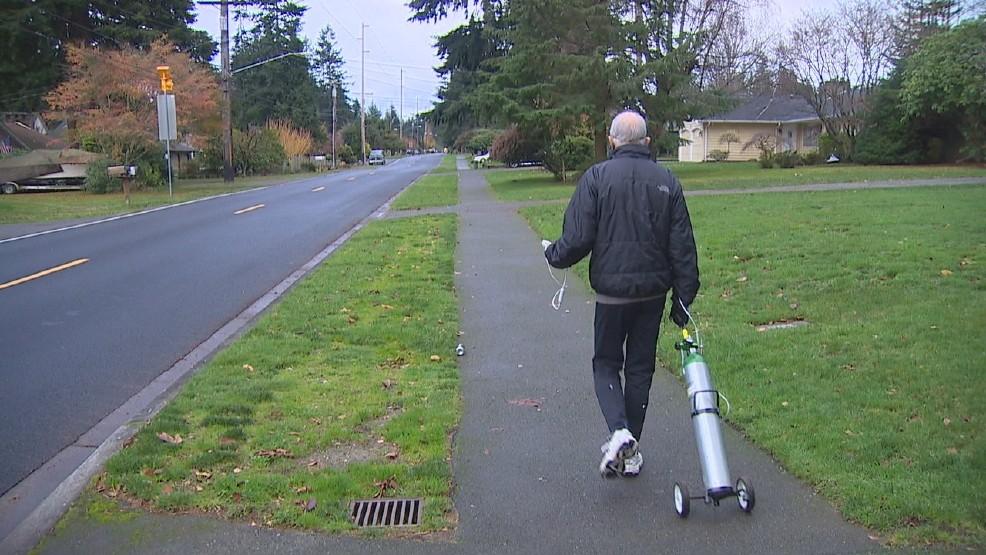Homem com doença faz 42k com cilindro