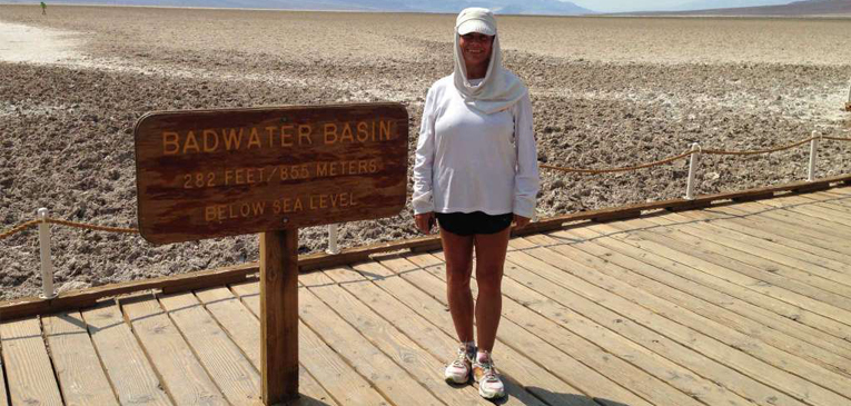 Ela correrá sua 990ª maratona domingo