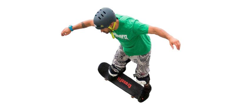 CrossFit lança skate para fãs do esporte
