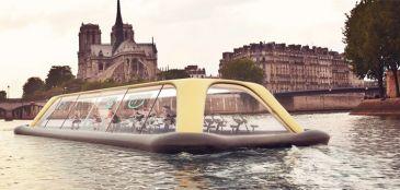 Paris terá academia flutuante movida a energia humana