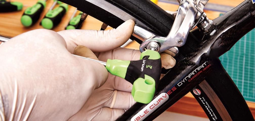 Ajuste das sapatas de freio da bike