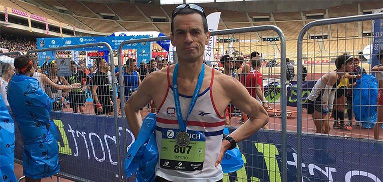 Recorde: maratona sub-3h por 40 anos!