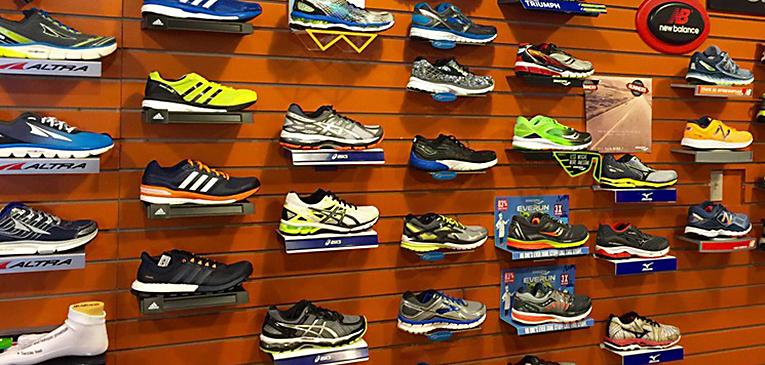 Em qual tipo de loja você compra seu tênis de corrida?