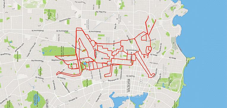 Os mais criativos desenhos com GPS