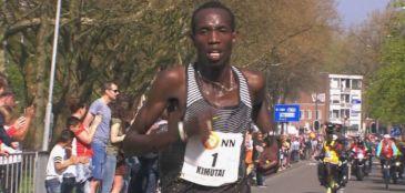 Marius Kimutai venceu a Maratona de Roterdã em 2h06min04