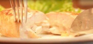 Aprenda como fazer um frango saudável e recheado