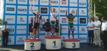Wellyda dos Santos leva o ouro no Pan-Americano de Ciclismo na República Dominicana