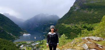Paraíso norueguês famoso por filme é palco de meia maratona
